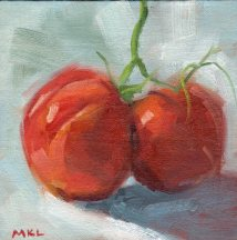 149 Heirloom Tomatoes 6x6 oil