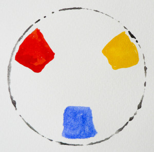 Primary colours - colour theory