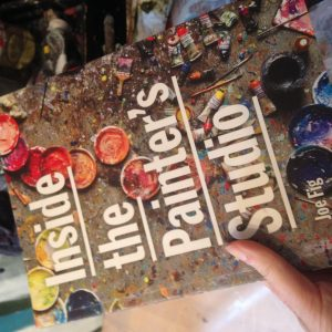 Cover of Inside the Painter's Studio by Joe Fig