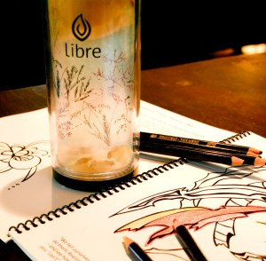 Libre tea and Outside Your Lines