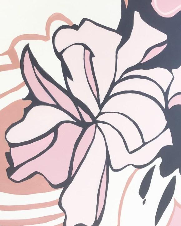 Mural detail by Marlene Lowden