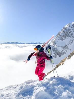 Über den Wolken in Ski Arlberg