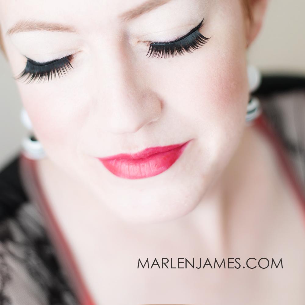 Pinup Makeup Sample