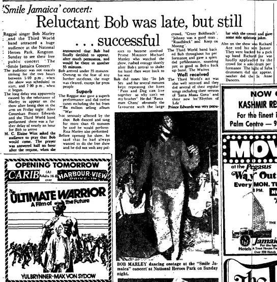 Jamaica Gleaner, December 7, 1976
