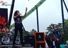 Miss May I performing live on the Main Stage at Skate and Surf Fest 2013.