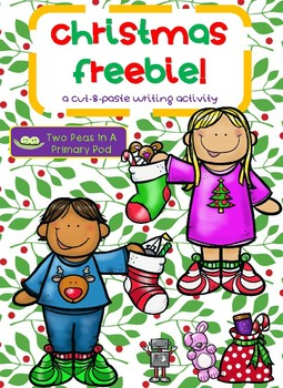 5 Free & New ELA Christmas Resources for K-1