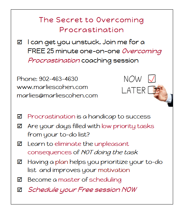 end procrastination free session
