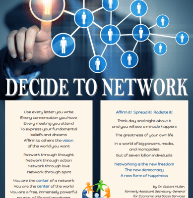 Why You Should Decide to Network