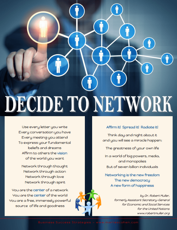 decide to network