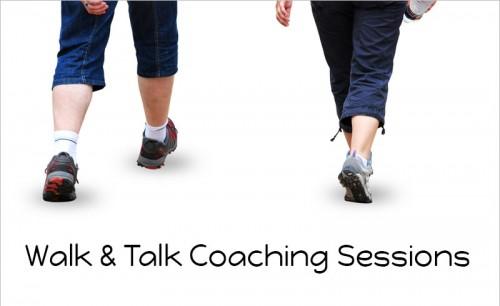 walk & talk coaching session