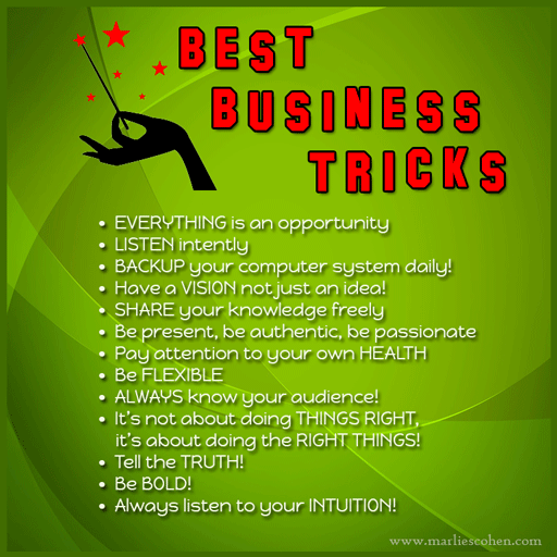 best business tricks