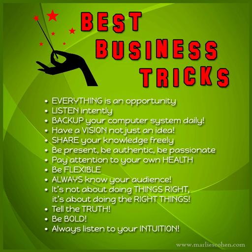 best business tricks