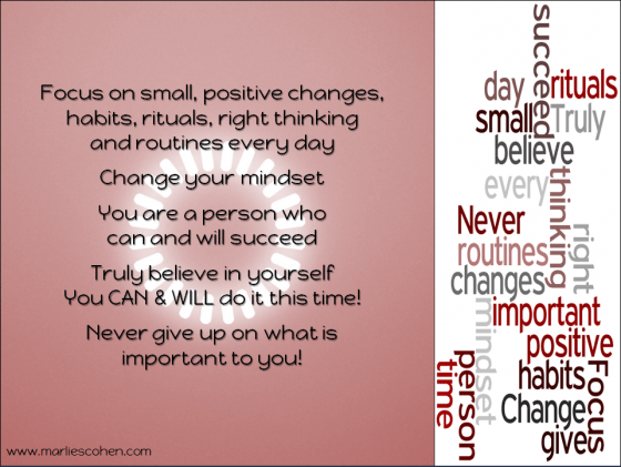 focus - change your mindset