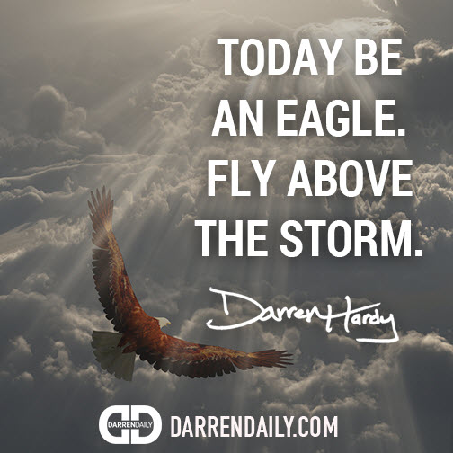 fly above the storm
