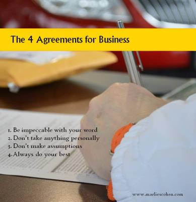 The 4 Agreements for Business