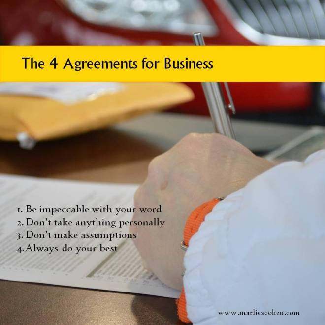 the 4 agreements for busines