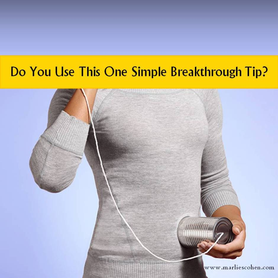 breakthrough tip