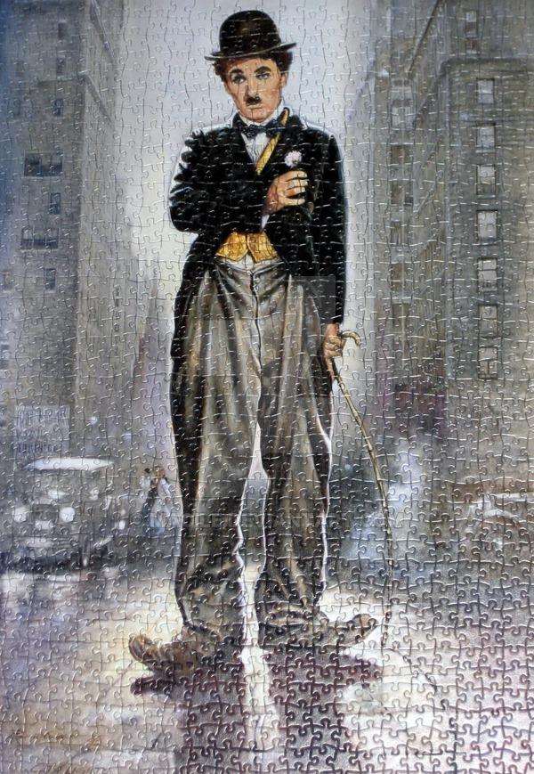 Charlie Chaplin puzzle