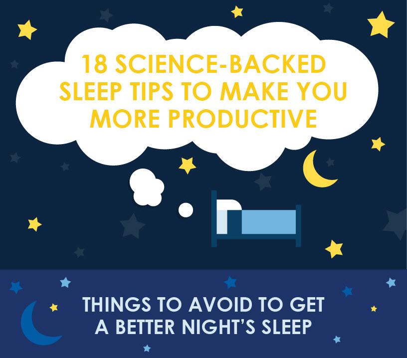 18 science backed sleep tips