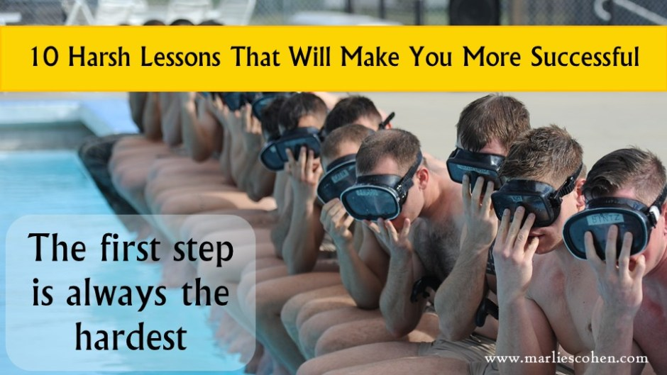 10 harsh lessons that will make you successful