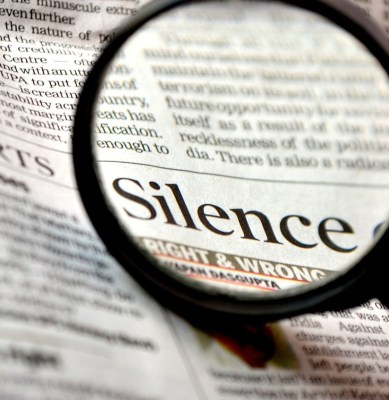 Silence Is a Powerful Weapon