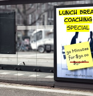Lunch Break Coaching Special