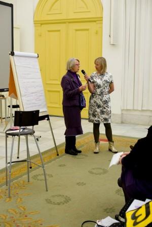 Henny van den Nagel op haar afscheidssymposium