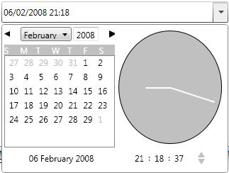 WPF Date Time Picker (1/2)