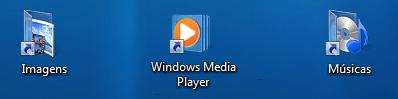 Ícones combinam com wallpaper do Windows 7