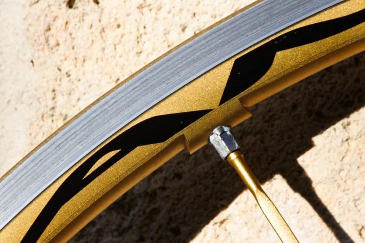 Campagnolo Shamal Ultra Gold Limited Edition Wheelset