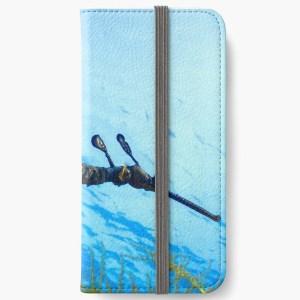 iphone protective wallet card case weedy seadragon print