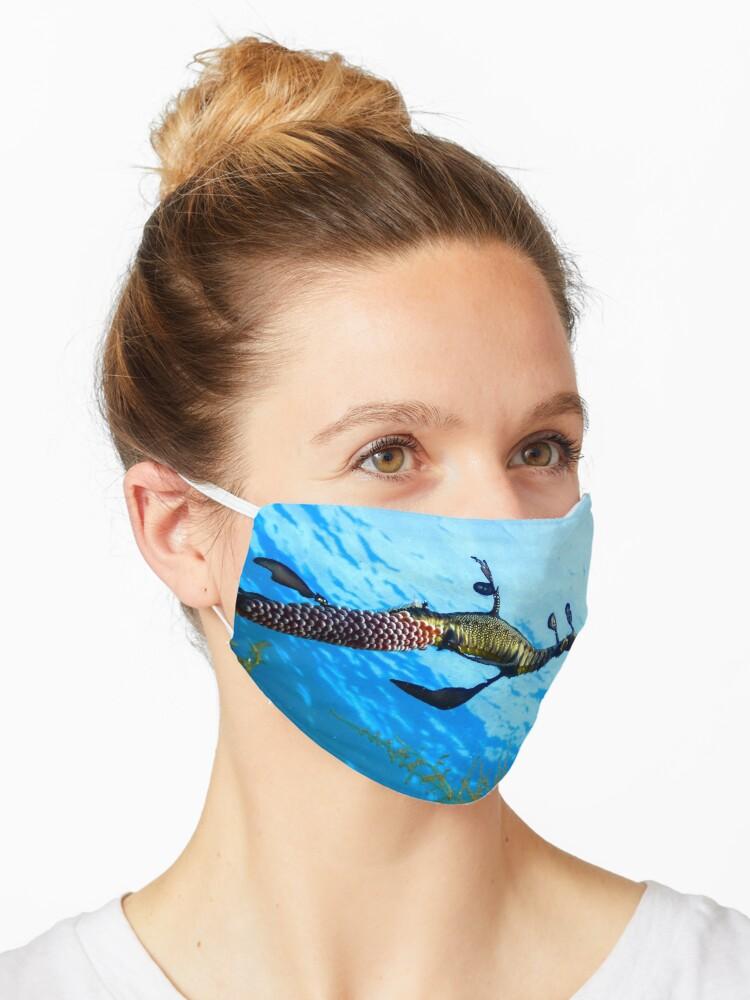 COVID Cloth Mask Weedy Seadragon Regular Size