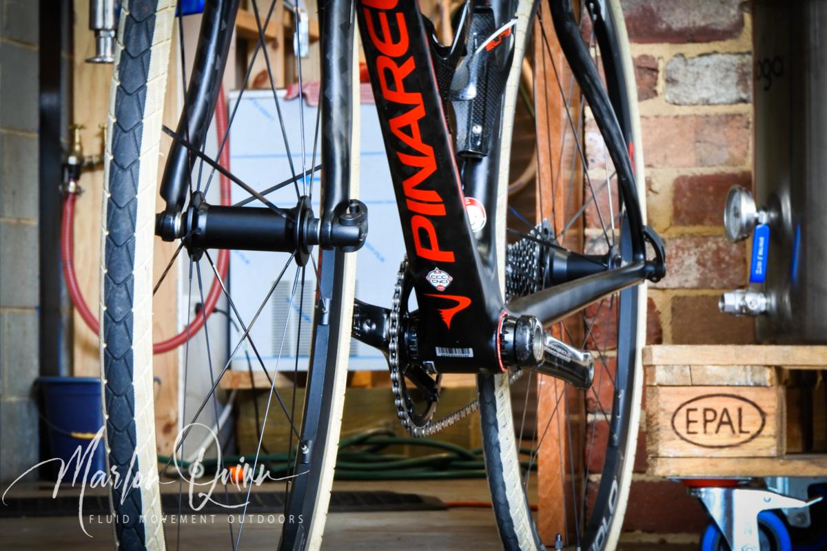 Pinarello FP Quattro Carbon Fibre Gravel Bike at Penni Ave Distillery Mornington Peninsula