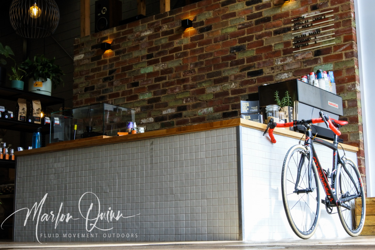 Pinarello FP Quattro Carbon Fibre Gravel Bike at Penni Ave Distillery Mornington Peninsula