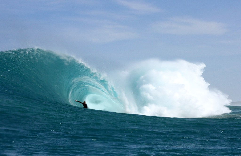 Surf survival breath-hold training in Melbourne. Image by Josh Morgan