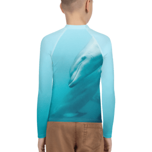 Dolphin Youth Swim Rashie Rash Guard Vest