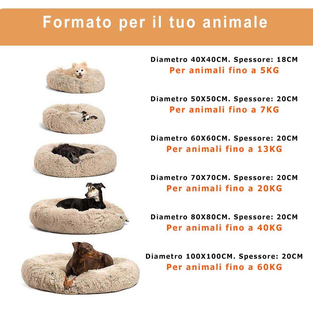 misure per animale