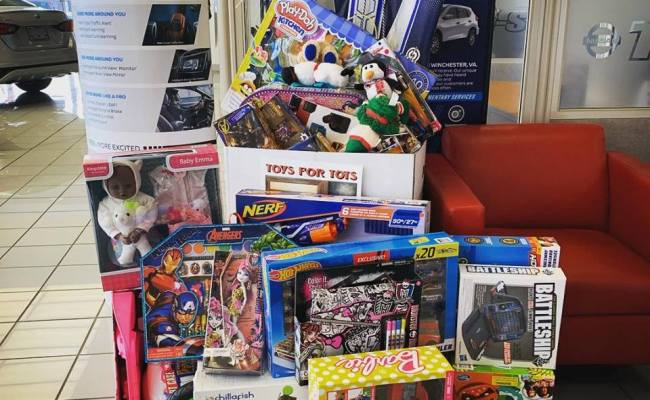 Toys For Tots Marlow Auto Group