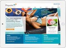 Pinpoint marketing tablet screenshot