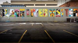 Black Lives Matter mural, Spokane, Washington