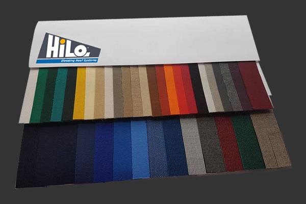 HiLo Canvas Colours