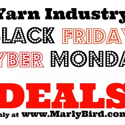 Black Friday Cyber Monday Advertising Yarn Industry
