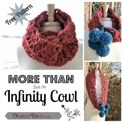 Free Crochet Pattern Infinity Cowl