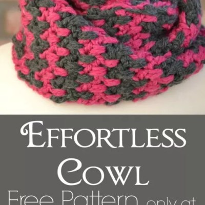 Free Crochet Cowl Pattern Effortless