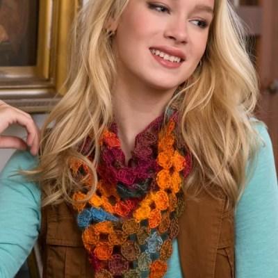 How to Crochet: The Yo Yo Scarf