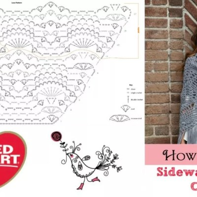 How To Read: Sidewalk Shawl Crochet Chart