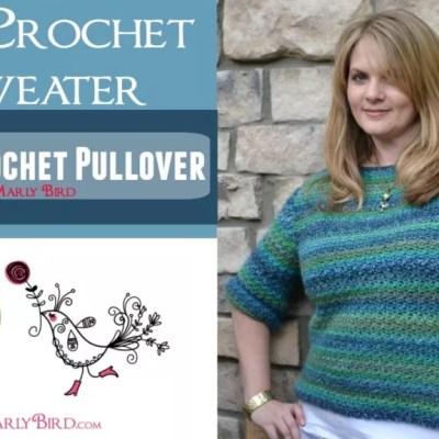 Xanadu Crochet Pullover