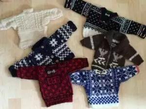 Little sweaters