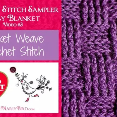 Basket Weave Crochet Stitch