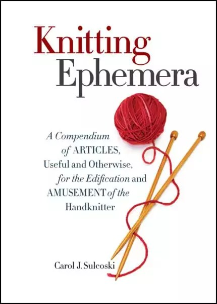 Knitting Ephemera